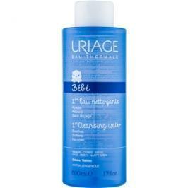 Uriage 1érs Soins Bébés jemná čisticí voda na obličej a tělo  500 ml