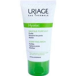 Uriage Hyséac čisticí a zklidňující pleťová maska pro stažení pórů  50 ml