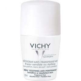 Vichy Deodorant deodorant roll-on pro citlivou a podrážděnou pokožku  50 g