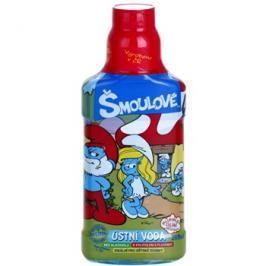 VitalCare The Smurfs ústní voda pro děti příchuť Buble Gum  250 ml