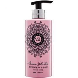 Vivian Gray Aroma Selection Raspberry & Rose krémové tekuté mýdlo  400 ml
