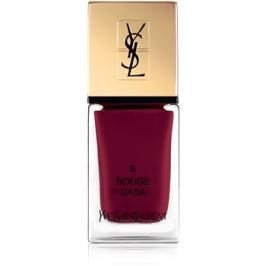 Yves Saint Laurent La Laque Couture lak na nehty odstín 06 Rouge Dada 10 ml