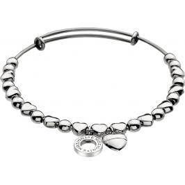 Hot Diamonds náramek Emozioni Silver Heart Bangle DC094