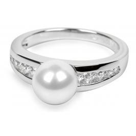 Silver Cat Stříbrný prsten s krystaly SC076 56 mm