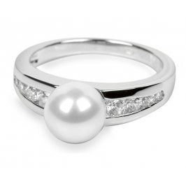 Silver Cat Stříbrný prsten s krystaly SC076 60 mm