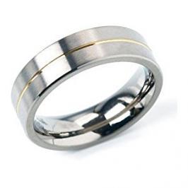 Boccia Titanium Snubní titanový prsten 0101-21 55 mm