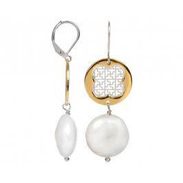 JwL Luxury Pearls Elegantní náušnice s perlou JL0092
