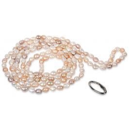 JwL Luxury Pearls Dlouhý náhrdelník z pravých multibarevných perel JL0140