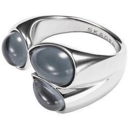 Skagen Módní ocelový prsten SKJ0771040 53 mm