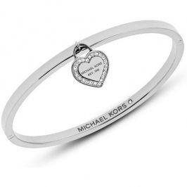 Michael Kors Pevný ocelový náramek se srdcem MKJ5038040