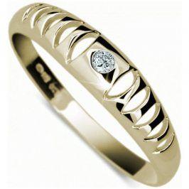 Danfil Originální zlatý prsten DF1282z 49 mm
