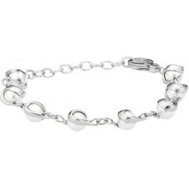 Skagen Ocelový náramek s perličkami SKJ0092040