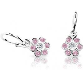 Cutie Jewellery Dětské náušnice C1737-10-X-2 růžová