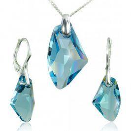 MHM Souprava šperků Kámen S Aqua 34127