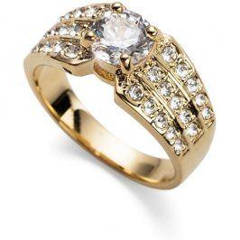 Oliver Weber Pozlacený prsten Working Inspire 41125 S (49 - 52 mm)