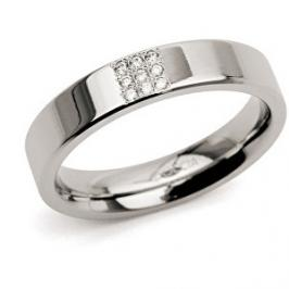Boccia Titanium Titanový prsten s diamanty 0121-02 56 mm