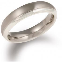 Boccia Titanium Titanový snubní prsten 0130-07 55 mm