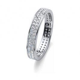 Oliver Weber Stříbrný prsten s krystaly Beach Value 63226 L (56 - 59 mm)