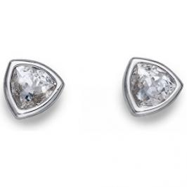 Oliver Weber Náušnice s čirými krystaly Ocean Trilli 22635R