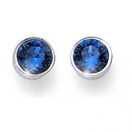 Oliver Weber Náušnice pecky s modrými krystaly Ocean Uno 22623 207