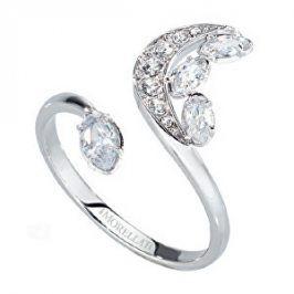Morellato Ocelový prsten s půlměsícem Luna SAIZ14 52 mm