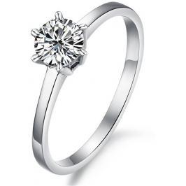 Troli Ocelový prsten s krystalem KRS-126 58 mm