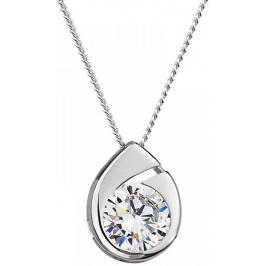 Preciosa Stříbrný náhrdelník Wispy 5105 00 (řetízek, přívěsek)
