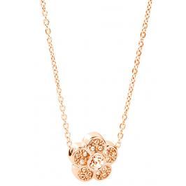 Brosway Ocelový náhrdelník s kytičkou Epsilon BEO08