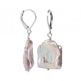 JwL Luxury Pearls Stříbrné náušnice s pravou perlou JL0304