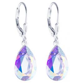 Preciosa Stříbrné náušnice s krystalem Iris 6079 42