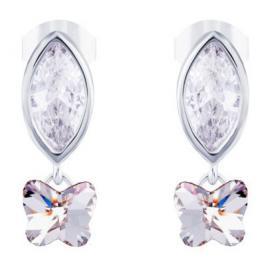 Preciosa Stříbrné náušnice s krystalem Tree of Life 6073 00