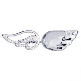 Preciosa Stříbrný otevřený prsten s krystalem Crystal Wings 6066 00