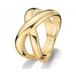 Tommy Hilfiger Masivní zlatý prsten z oceli TH2700964 56 mm