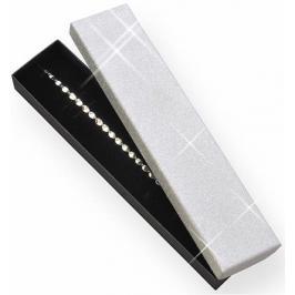 JK Box Dárková krabička na náramek nebo náhrdelník MG-9/AG