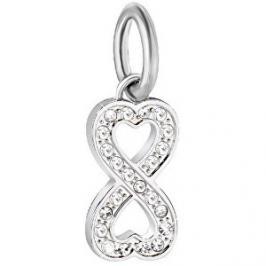 Morellato Ocelový přívěsek Drops Infinity Love SCZ912