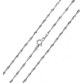 Brilio Silver Stříbrný řetízek Lambáda 42 cm 471 086 00008 04