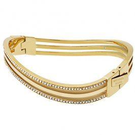 Michael Kors Pevný luxusní náramek s krystaly MKJ6622710