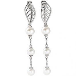 Morellato Romantické náušnice s pravými perlami Foglia SAKH14