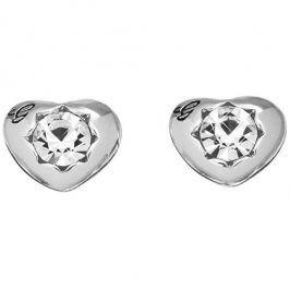 Guess Náušnice srdíčka s krystaly UBE51415