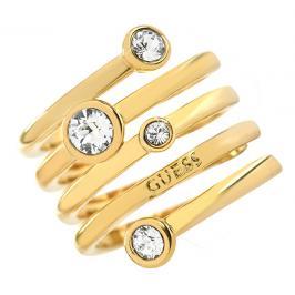 Guess Luxusní spirálovitý prsten UBR84056 52 mm