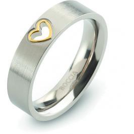 Boccia Titanium Zamilovaný titanový prsten 0143-02 59 mm