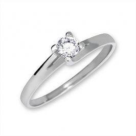Brilio Zlatý zásnubní prsten 223 001 00090 07 - 1,75 g 58 mm