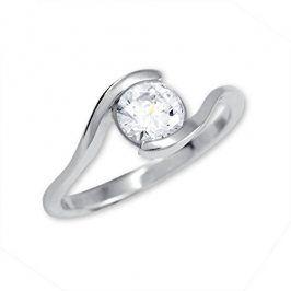 Brilio Silver Stříbrný zásnubní prsten 426 001 00422 04 - 1,98 g 60 mm