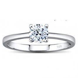 Silvego Stříbrný prsten MADISON se Swarovski Zirconia JJJR2339sw 58 mm