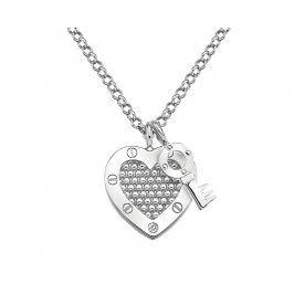 Hot Diamonds Stříbrný náhrdelník Hot Diamonds Love DP654