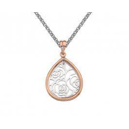 Hot Diamonds Bicolor náhrdelník Hot Diamonds Luxury DP658