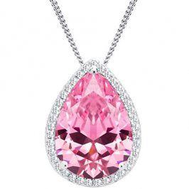 Preciosa Stříbrný náhrdelník Rosa 5225 69