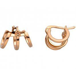 Esprit Bronzové náušnice kroužky Iva Creole ESER00161300