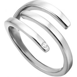 Esprit Stylový ocelový prsten Iva ESRG001614 51 mm