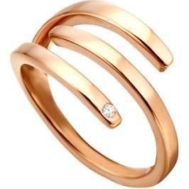 Esprit Stylový bronzový prsten Iva ESRG001616 51 mm